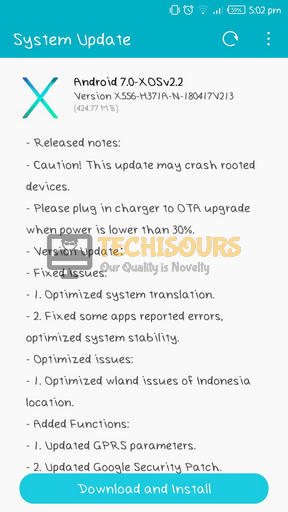 Update system to eliminate general problems can cause code 98 issue