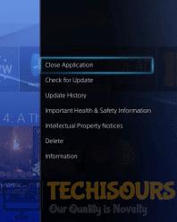 Close App to terminate error code baboon