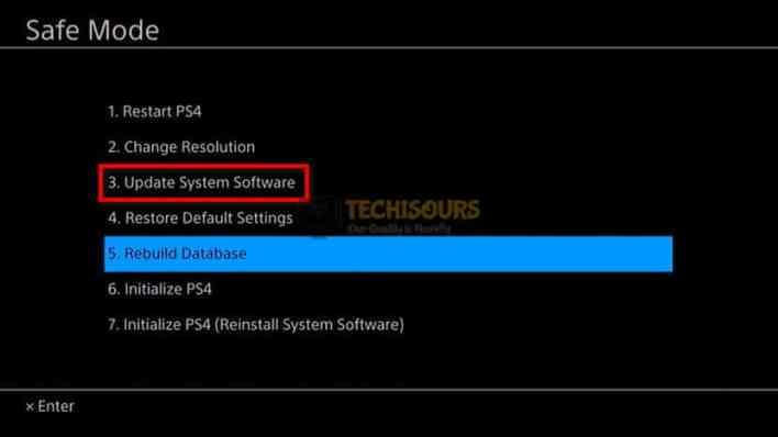 Update system software to fix ps4 error su-30625-6