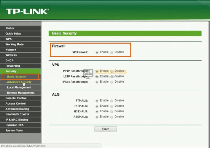 Disable Defender Firewall to fix FFXIV Error 2002