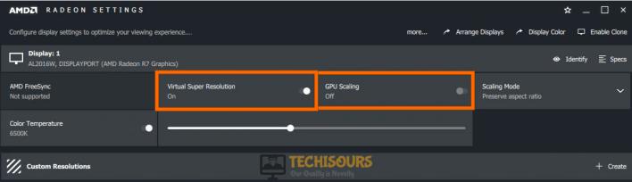 Tweak Radeon settings