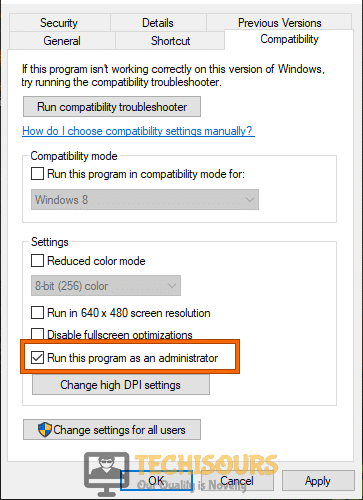 Run this program as an administrator to fix the Origin Overlay not Working issue