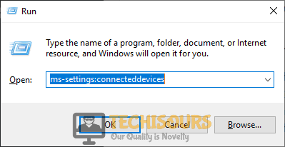 "Typing ""ms-settings:connecteddevices"" to fix this device cannot start. (code 10) insufficient system resources exist to complete the api issue"
