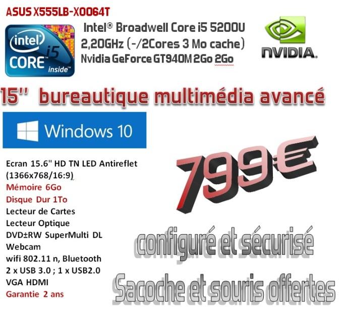 ASUS X555LB-XO064T