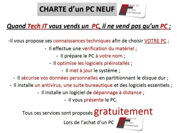 Quand Tech iT Vend PC