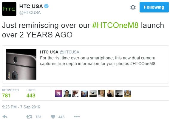 HTC-tweet