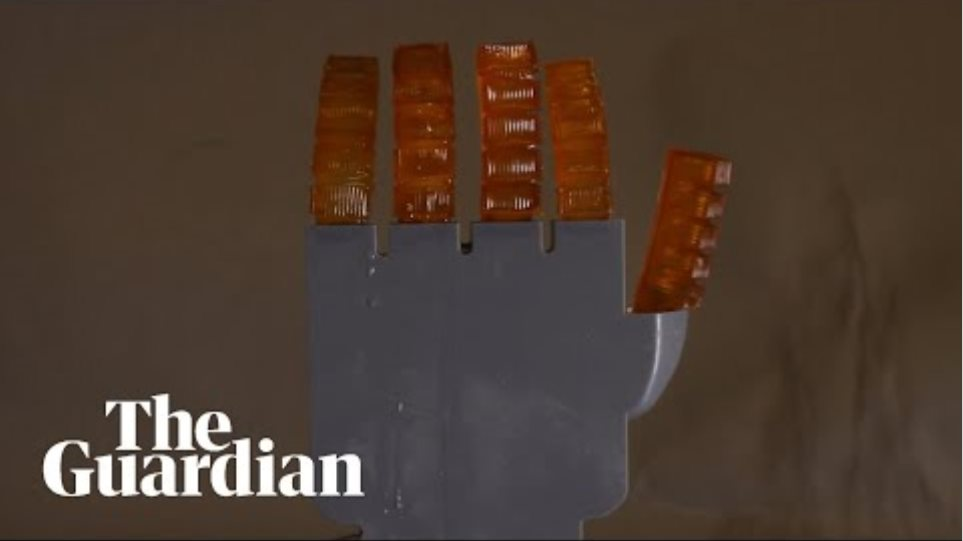 This robot hand can 'sweat' to cool itself down