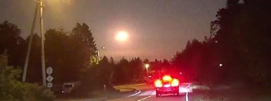 «Ασυνήθιστα μεγάλος μετεωρίτης» φώτισε τον ουρανό στο νότιο τμήμα της Νορβηγίας
