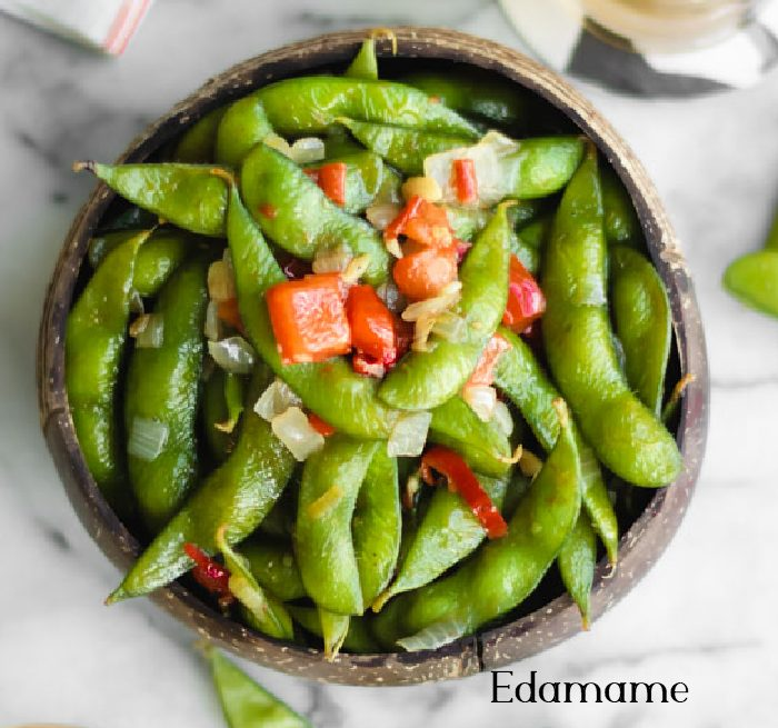 Edamame food to lose belly fat