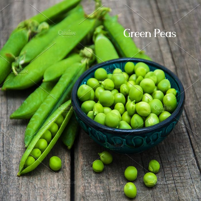 Green Peas protein food to decrease belly fat fastly