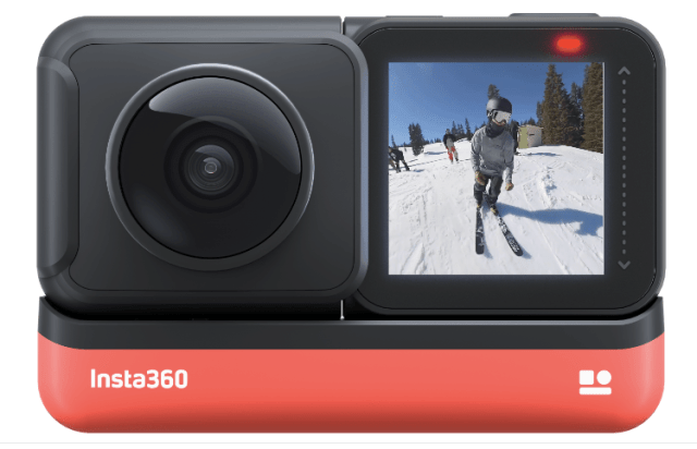 Insta 360 One R action Camera free for Youtube