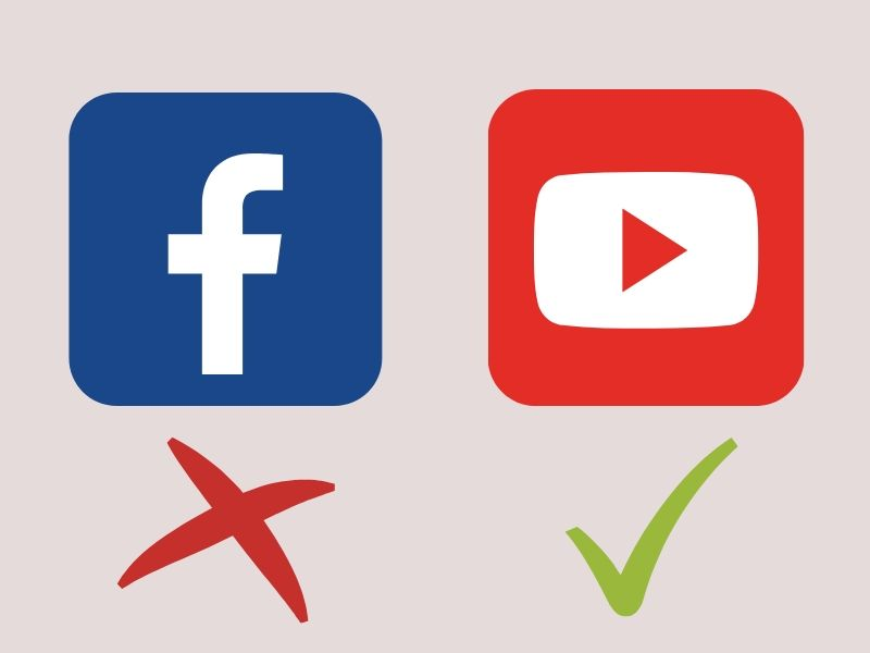 social media tips for startup - pick out the right platform