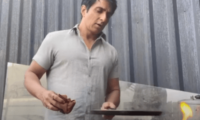Sonu Sood is sometimes seen helping people and sometimes making a dosa. – Bollywood News: Latest Bollywood News & Bollywood Gossip