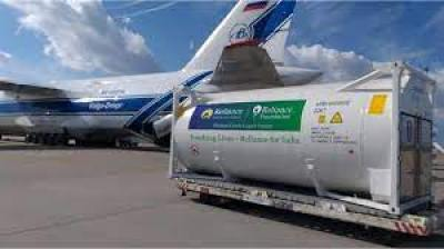 Video of Reliance stickers installed on oxygen tankers viral with false claim