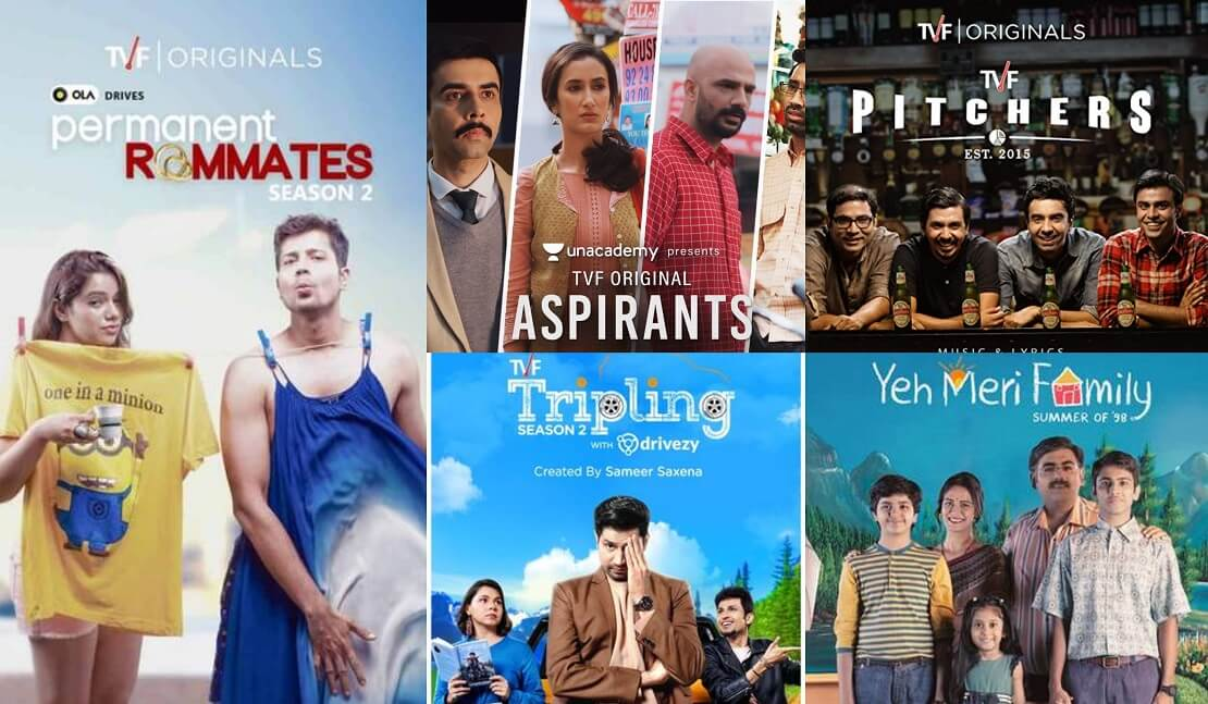 All TVF Play Web Series Cast and Actress List