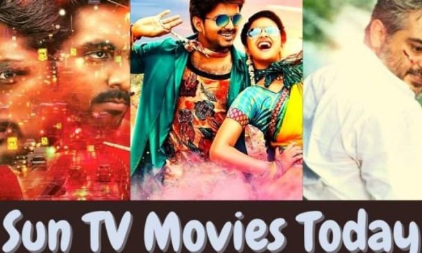 Today Movies in Sun TV: What to see today? What movies to watch on Sun Tv