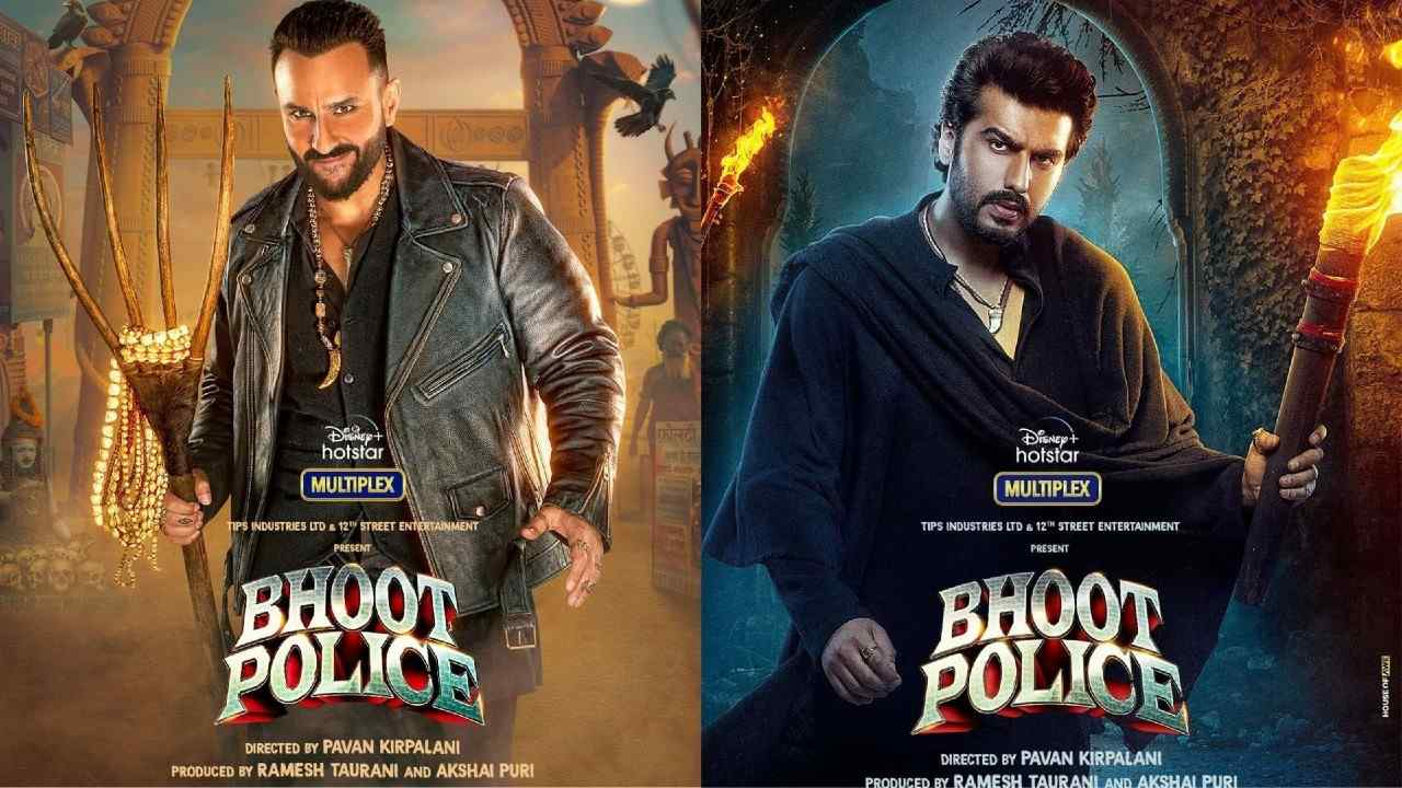 Bhoot Police: Saif Ali Khan's first look in the role of Vibhuti