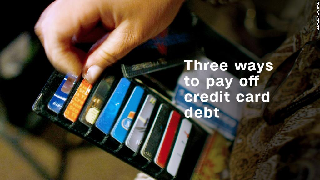 Three easy ways to pay off credit card debt
