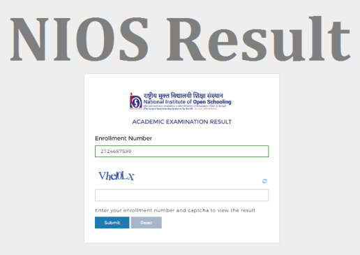 NIOS 10th Result 2021 (Exam Cancelled) Matric Result Date