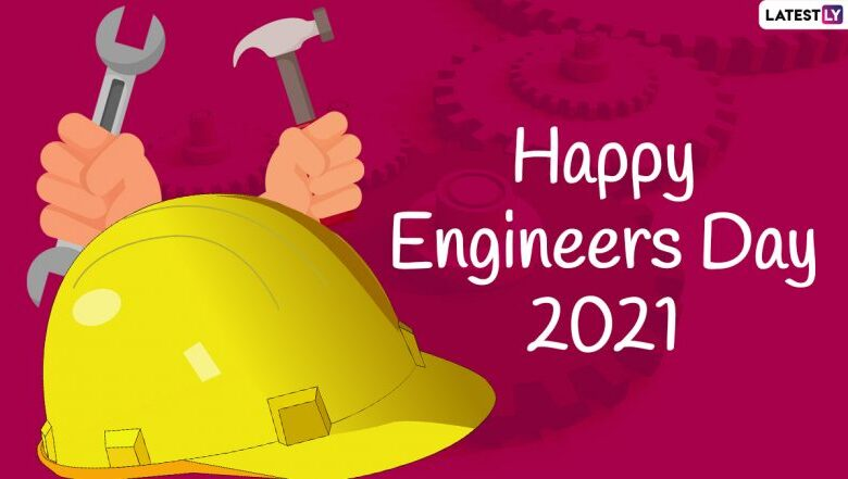 Happy Engineers Day 2021 Greetings & WhatsApp Status Video: Celebrate Engineer's Day in India Sharing Wishes, HD Images and Quotes | Socially Keeda