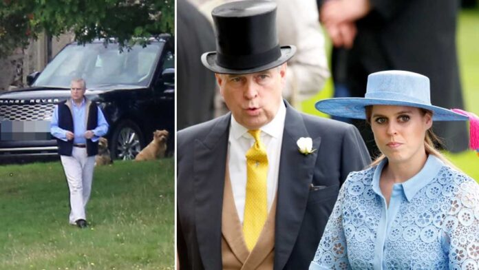Prince Andrew set to leave Balmoral hideaway to see pregnant Princess Beatrice in hospital