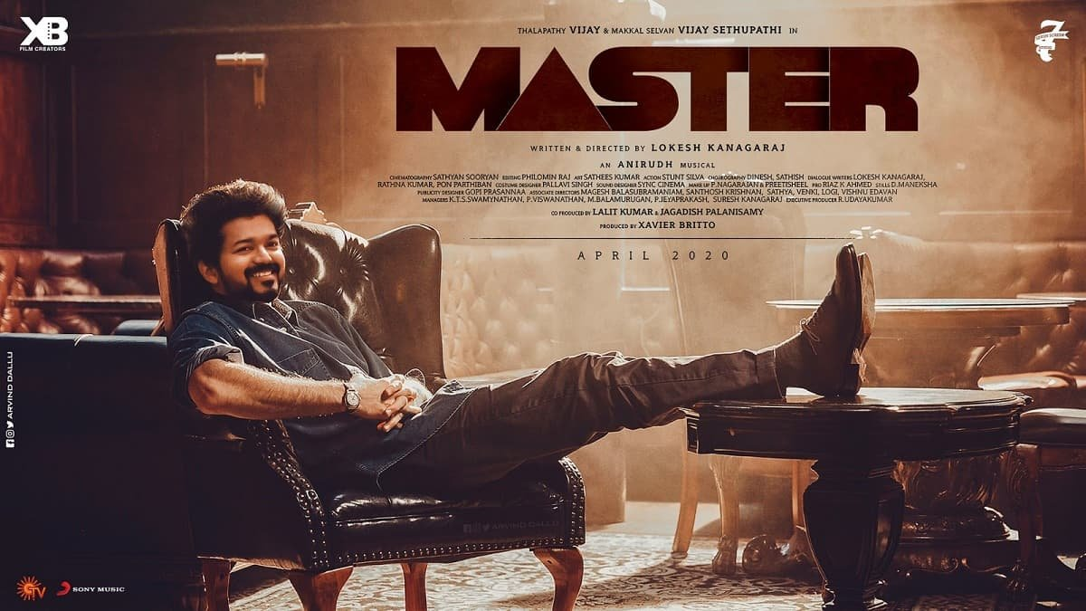 Master Hindi Movie (2023) Cast, Trailer, Story, Release Date, Poster