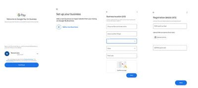 Setup Google Pay For Business - Fees & Charges. 2