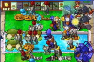 Plants vs Zombies - top zombie games in android