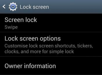 How to add shortcuts options to lock screen in Galaxy S4 and S3
