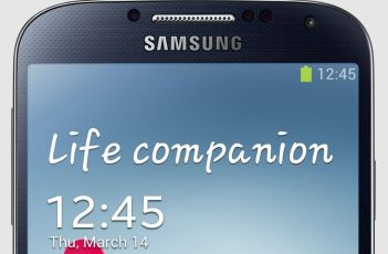How to change or remove Text on Galaxy S4 lock screen