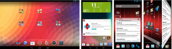 How to get custom android look in android - Nova launcher