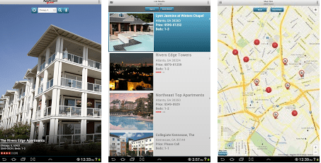 Top Android Apps to search for Rental apartments and houses - apartment guide