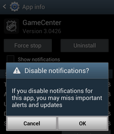 how to see closed notifications in android