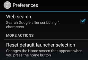 How to remove zlauncher from being default launcher