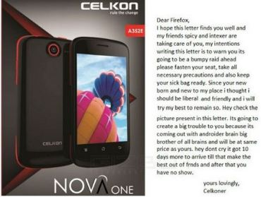 Celkon Nova One fetures specifications pricing and release date