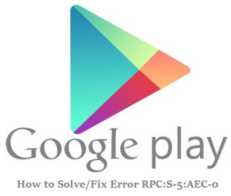 How to solve error RPC:S-5:AEC-0