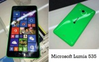 Microsoft Lumia 535 launch features and price