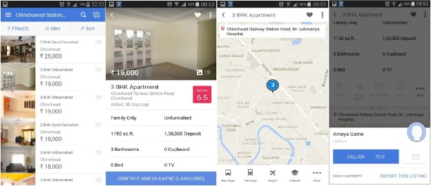Housing android app review and listings