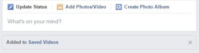 How to save videos to see or view later in my Facebook account