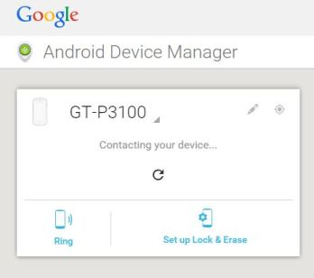 How to Erase data and files remotely from android device using android device manager