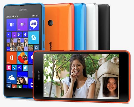 Microsoft Lumia 540 features and pricing