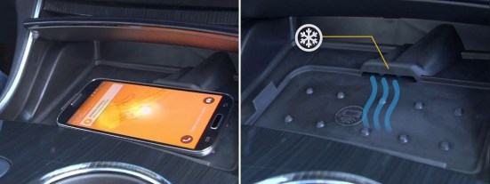 Chevrolet introduces tiny ac to cool your smartphone in car
