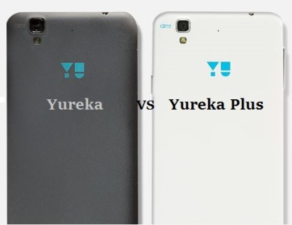 Compare YU Yureka Plus vs Yu Yureka and differences