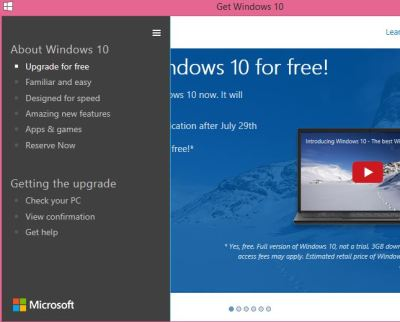 How to cancel Window 10 free copy reservation