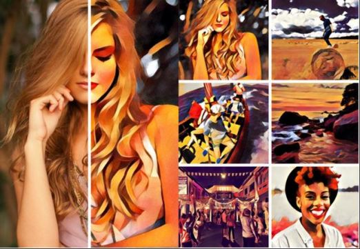 How to remove watermark on photos taken in Prisma App