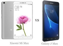 Xiaomi Mi Max vs Samsung Galaxy J Max Comparison of Specifications and price