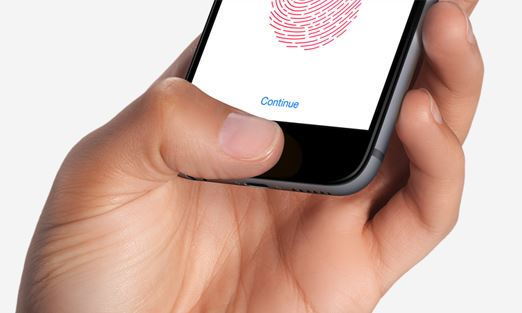 How to set Unlock iPhone by resting finger on home button