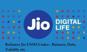How to check Reliance Jio 4G Data and plans with USSD codes
