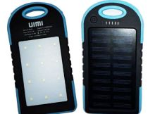 UIMI U3 Mini 4000mAh Solar powerbank