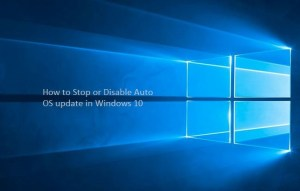 How to disable auto update for Windows 10 PC or laptop